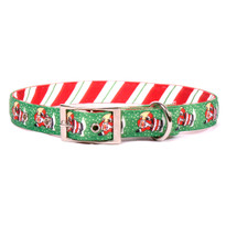Santa Claus Uptown Dog Collar