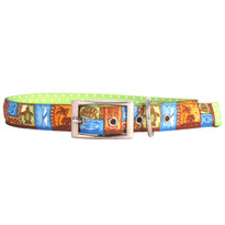 Tiki Print Uptown Dog Collar