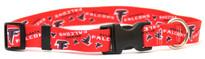 Atlanta Falcons Logo Dog Collar