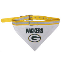 Green Bay Packers Bandana Dog Collar