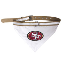 San Francisco 49Ers Bandana Dog Collar