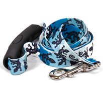 Geckos Teal EZ-Grip Dog Leash