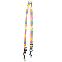 Pink Flamingo Coupler Dog Leash