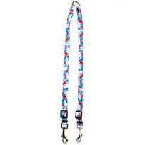 Pirate Skulls Coupler Dog Leash
