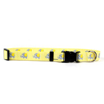 Yellow Elephants  Break Away Cat Collar