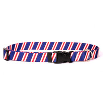 Team Spirit Red, White and Navy Blue Break Away Cat Collar
