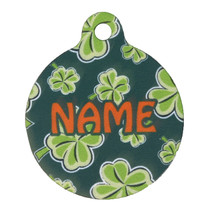 4 Leaf Clover HD Pet ID Tag