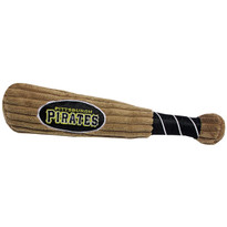 Pittsburgh Pirates Baseball Bat Squeaker Dog Toy