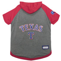 Texas Rangers Hoodie T-Shirt For Dogs