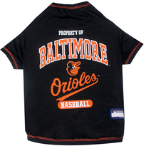 Baltimore Orioles Tee Shirt For Dogs