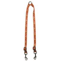 Festive Butterfly Orange Coupler Dog Leash