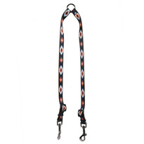 Indian Spirit Black Coupler Dog Leash