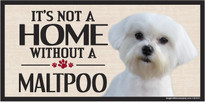 Its Not A Home Without A MATLIPOO Wood Sign