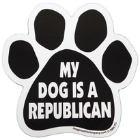 My Dog is a Republican Paw Magnet