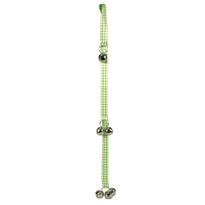 Gingham Green Ding Dog Bells Training System