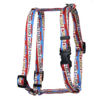 Vintage Made in the USA Roman Style H Dog Harness