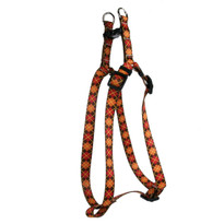 Argyle Fall Step-In Dog Harness