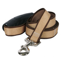 Sterling Stripes Tan and Brown Dog Leash