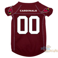 Arizona Cardinals NFL Football Dog Jersey - CLEARANCE