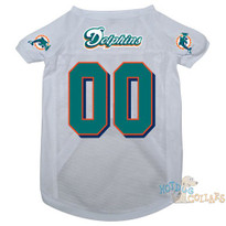 Miami Dolphins NFL Football Dog Jersey - CLEARANCE