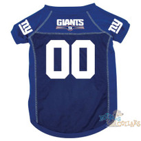 New York Giants NFL Football Dog Jersey - CLEARANCE