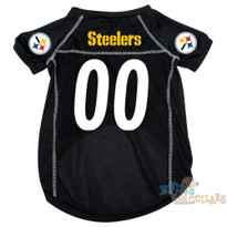 Pittsburgh Steelers NFL Football Dog Jersey - CLEARANCE