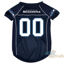 Seattle Seahawks NFL Football Dog Jersey - CLEARANCE