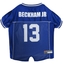Odell Beckham Jr New York Giants NFL Football Pet Jersey