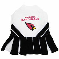 Arizona Cardinals NFL Football Pet Cheerleader Outfit