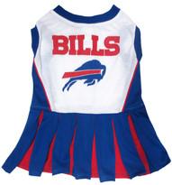 Buffalo Bills NFL Football Pet Cheerleader Outfit