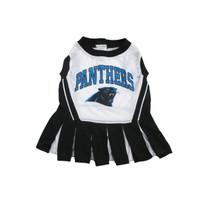 Carolina Panthers NFL Football Pet Cheerleader Outfit