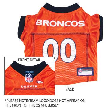 Denver Broncos NFL Football ULTRA Pet Jersey