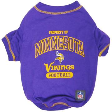 Minnesota Vikings NFL Football Pet T-Shirt