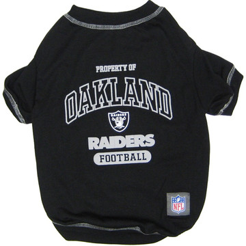 Oakland Raiders NFL Football Pet T-Shirt