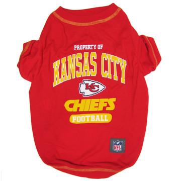 Kansas City Chiefs NFL Football Pet T-Shirt