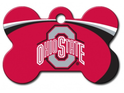 Ohio State Buckeyes Engraved Pet ID Tag