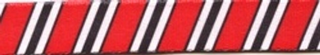 Team Spirit Red, Black and White Coupler Dog Leash