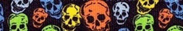 Neon Skulls Ding Dog Bells Potty Training System