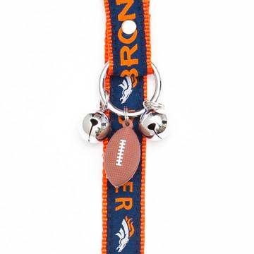 Denver Broncos Pet Potty Training Bells