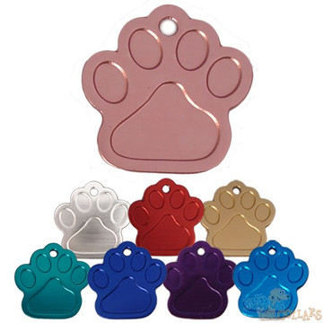 HyperLite Paw Pet ID Tag - With Engraving