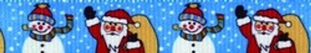 Santa and Snowman Dog Leash