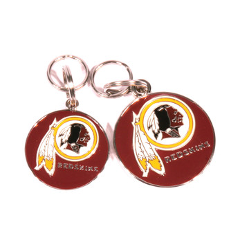 Washington Redskins NFL Dog Tags With Custom Engraving