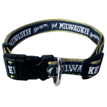 Milwaukee Brewers Dog COLLAR