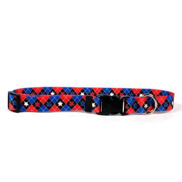 American Argyle Dog Collar