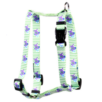 "Fish Tales Roman Style ""H"" Dog Harness"
