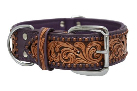 The San Antonio - Luxury Leather Dog Collar