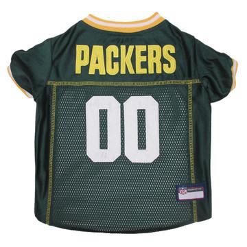 Green Bay Packers PREMIUM NFL Football Pet Jersey