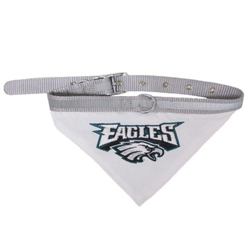 Philadelphia Eagles Bandana Dog Collar