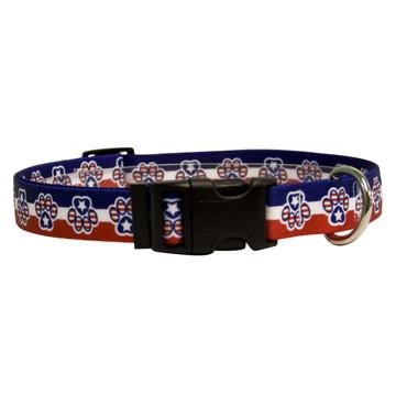 Patriotic Paws Break Away Cat Collar