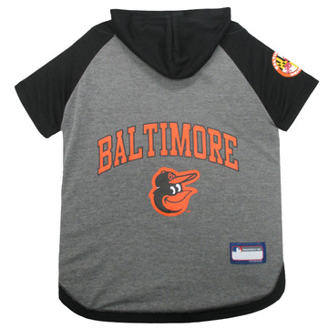 Baltimore Orioles Hoodie T-Shirt For Dogs
